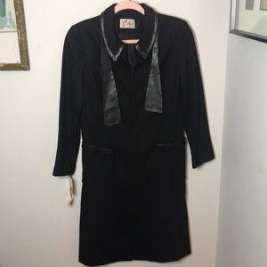 Vintage 60s Deadstock NWT Carlye Black Coat Sz 12